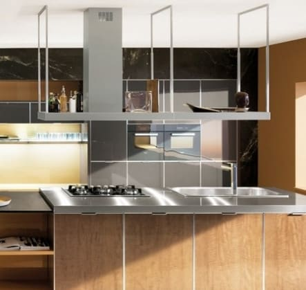 Futuro Futuro Is72europestn Island Mount Range Hood With 940 Cfm Internal Blower 4 Speed Electronic Controls 8 Halogen Lights Perimeter Suction Filter System Tempered Glass Panel And Matching Shelf 72 Inch Width