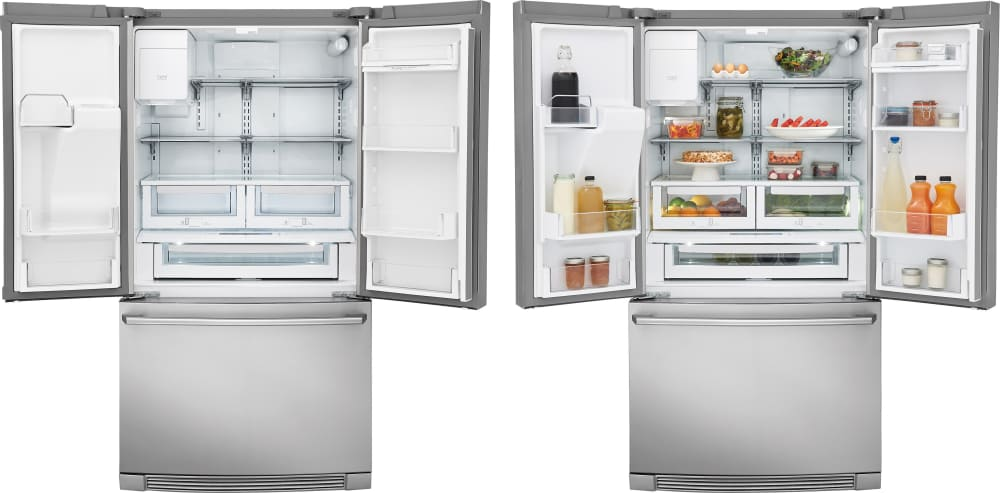 Electrolux Ew23bc87ss 36 Inch Counter Depth French Door Refrigerator