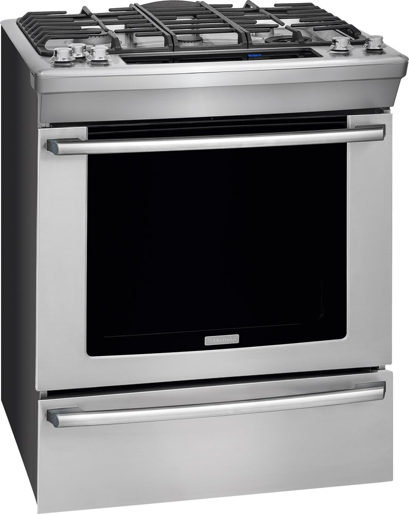 Why Dual Fuel Range Electrolux Ew30ds80rs 30 Inch Dual Fuel Slide In Range With 5