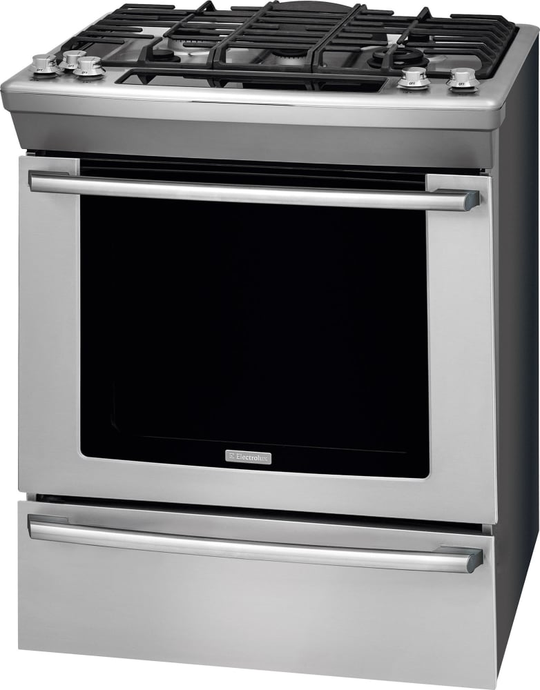 Electrolux Ew30gs80rs 30 Inch Slide In Gas Range With 5