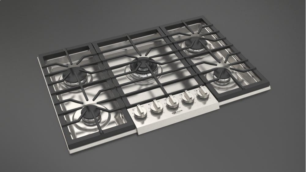 36 Inch Pro Style Natural Gas Cooktop