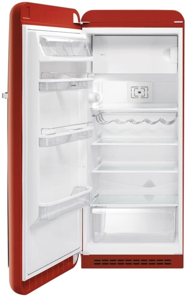 Smeg Fab28url 9 22 Cu Ft 50 S Style Refrigerator With