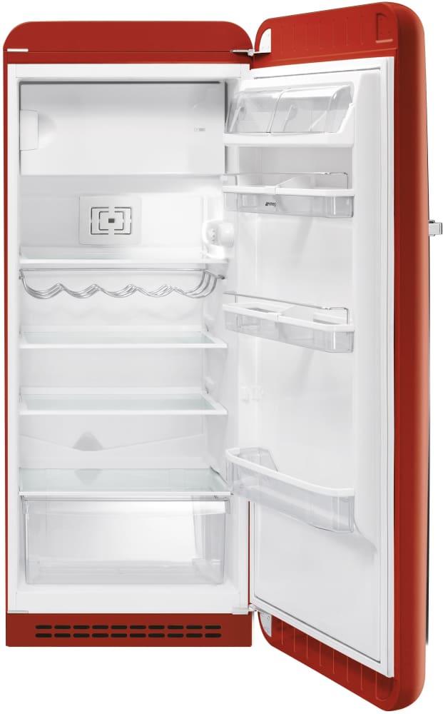 Smeg Fab28urr 9 22 Cu Ft 50 S Style Refrigerator With