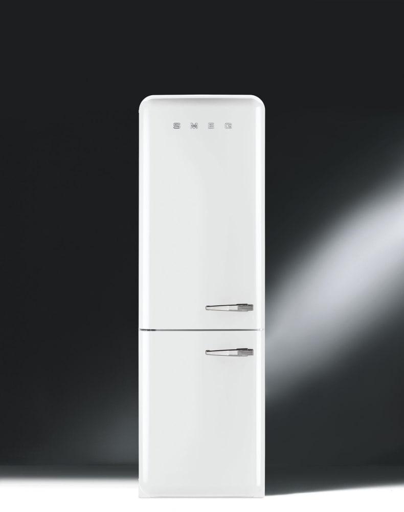 smeg 50u0027s retro design fab32uwhln 50u0027s retro style bottom freezer