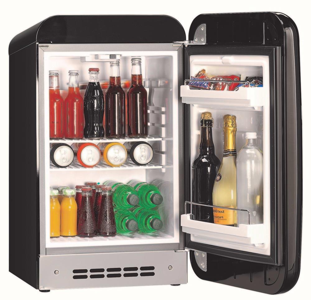 smeg fab5urne 1 5 cu ft compact refrigerator with 2