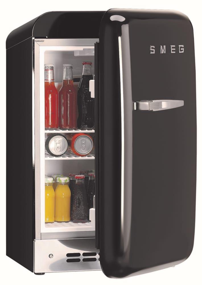 Smeg Fab5urne 15 Cu Ft Compact Refrigerator With 2 Adjustable