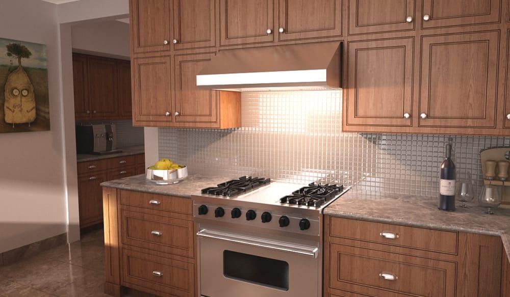 Faber Maes3010ss600b Under Cabinet Range Hood With 600 Cfm