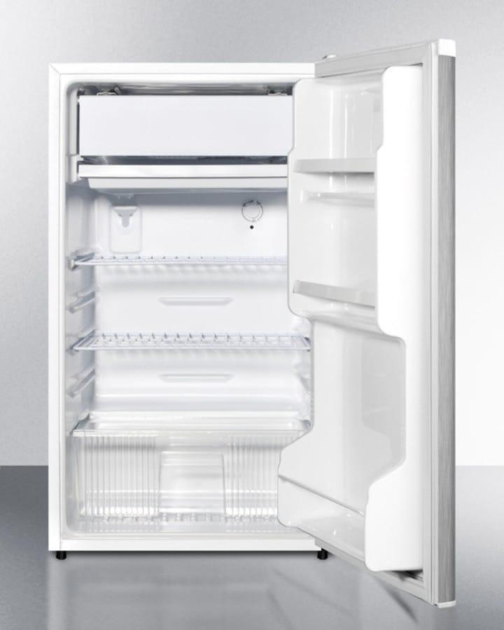 Summit FF412ESSSADA 19 Inch Compact Refrigerator with 3.6 cu. ft ...