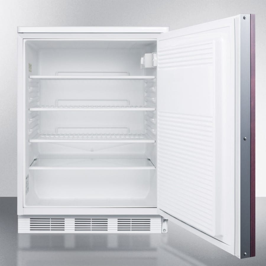 Accucold ff7lbiif 24 inch built in compact refrigerator for Ajmadison