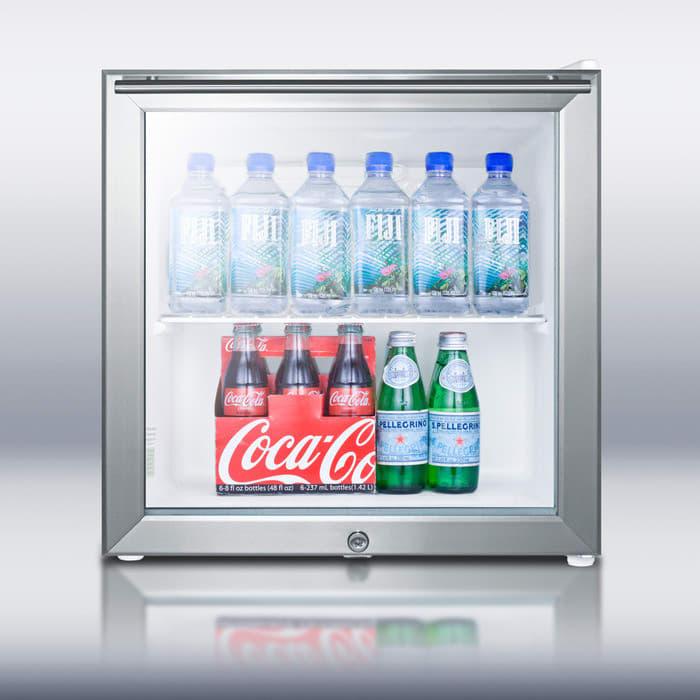 Summit Ffar2lgl7 1 8 Cu Ft Compact Refrigerator With