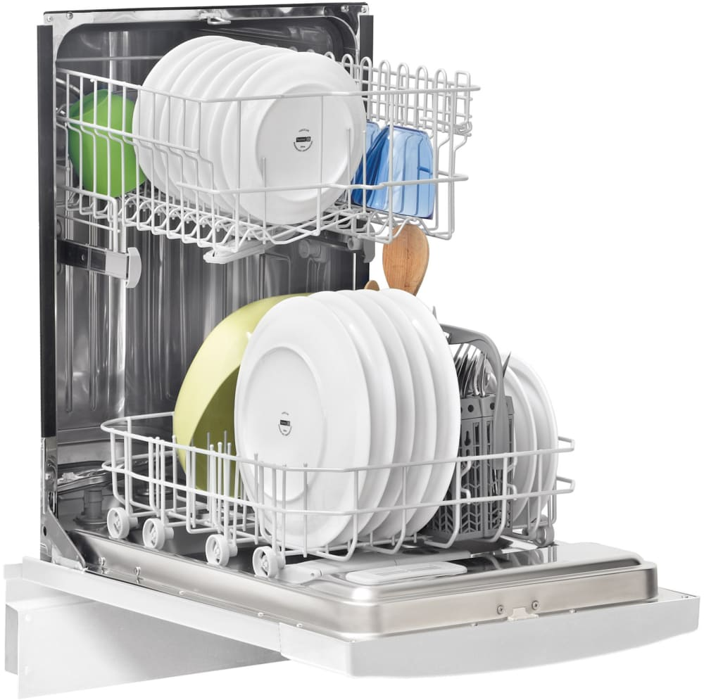 Frigidaire FFBD1821MB 18 Inch Full Console Dishwasher With Energy Saver,  High Temperature Wash, China Crystal Cycle, Stainless Steel Tub, 6 Wash  Cycles, ...