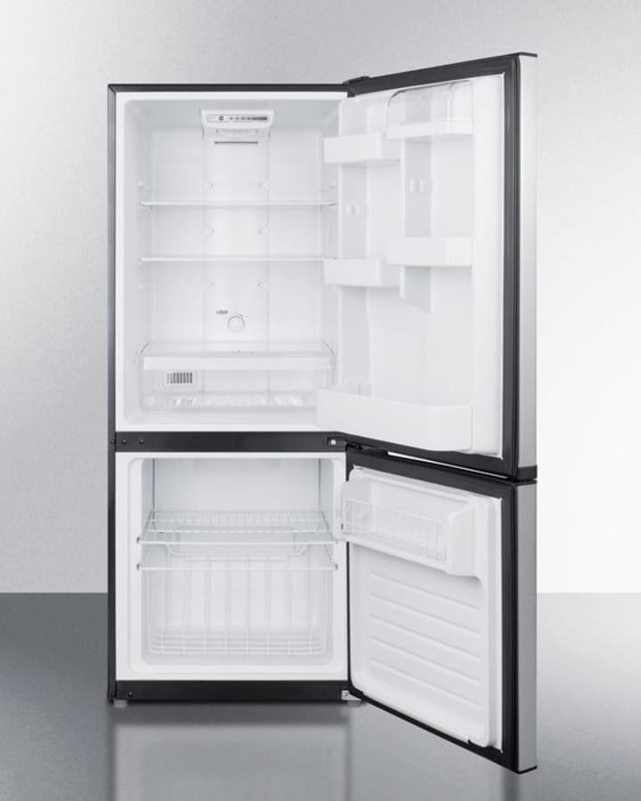 Summit Ffbf101ss 24 Inch Counter Depth Bottom Freezer