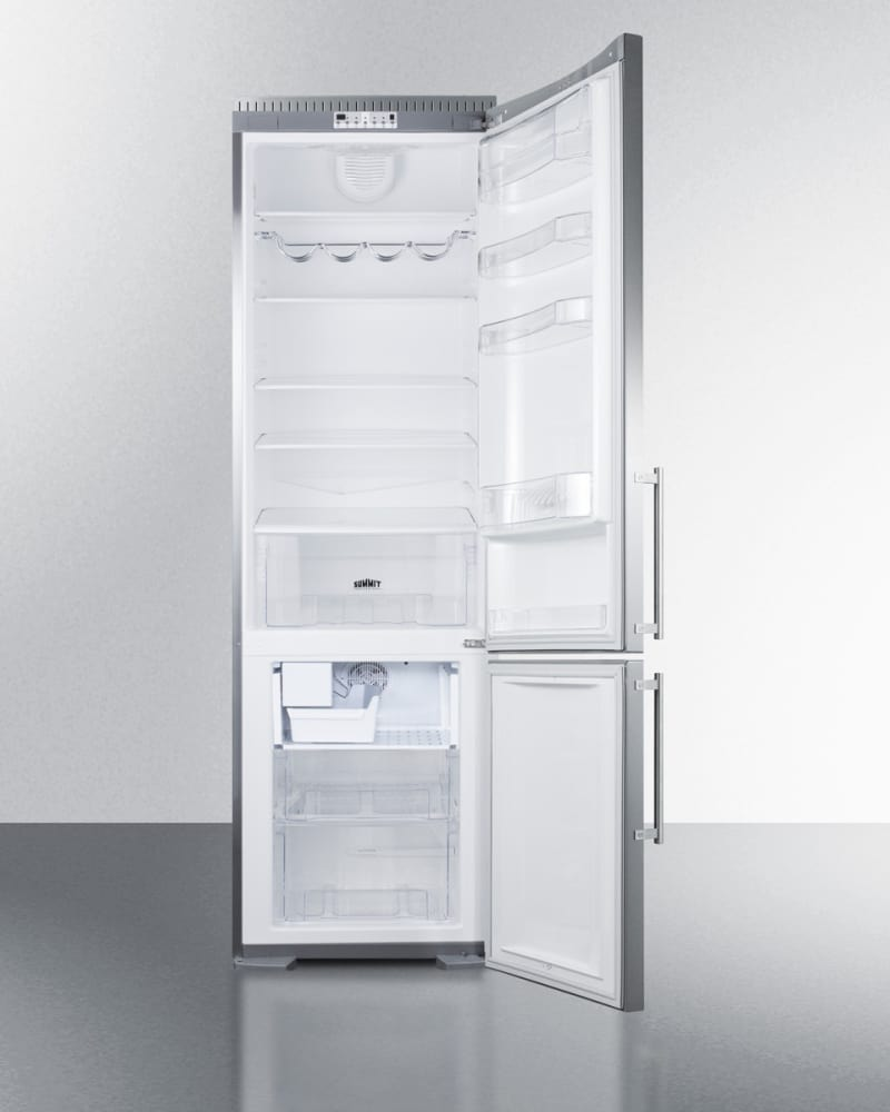 Refrigerator Options Summit Ffbf181ssbiim 24 Inch Bottom Freezer Refrigerator With 125
