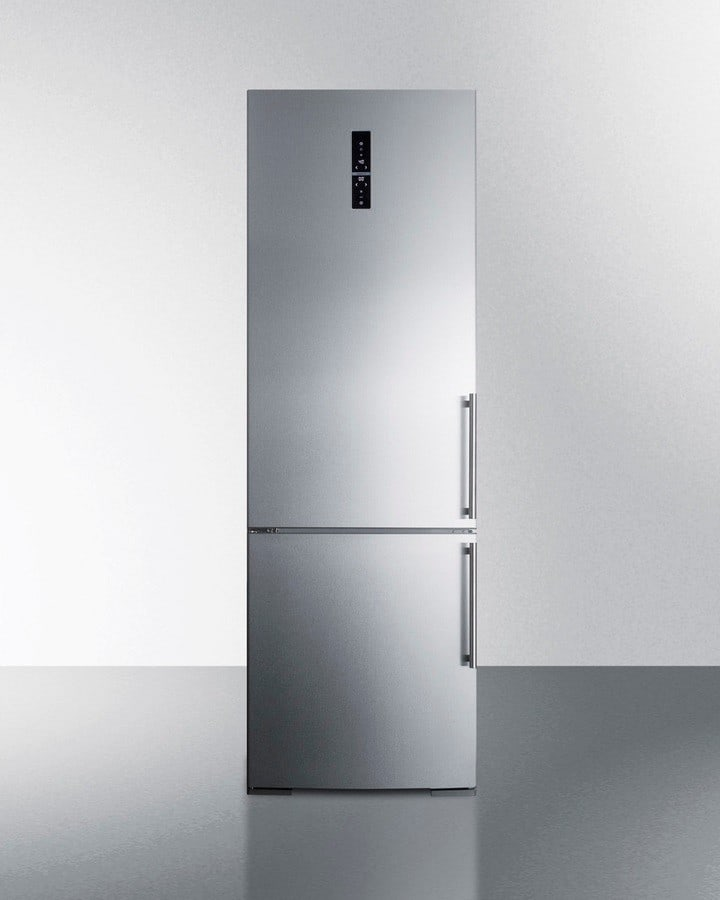 Summit Ffbf249ssimlhd 24 Inch Bottom Freezer Refrigerator