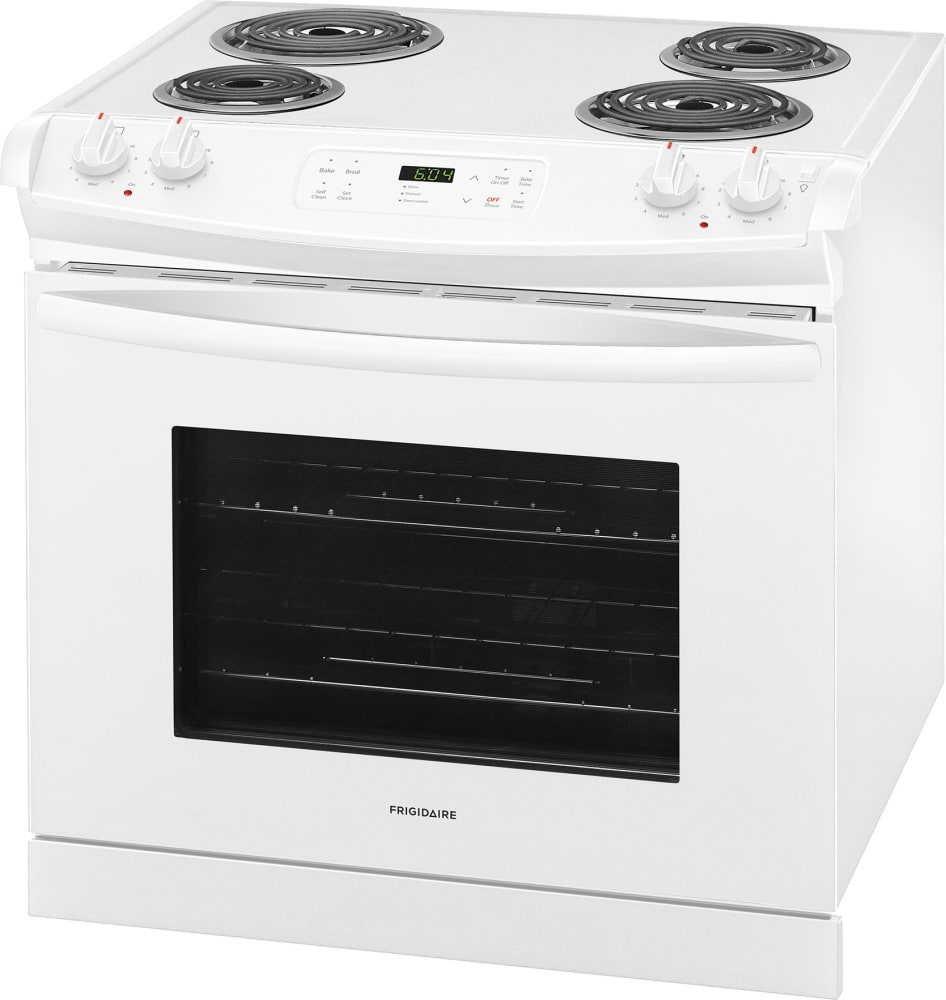 frigidaire ffed3016tw 30 inch drop in electric range with vari broil hi lo oven auto shut off. Black Bedroom Furniture Sets. Home Design Ideas