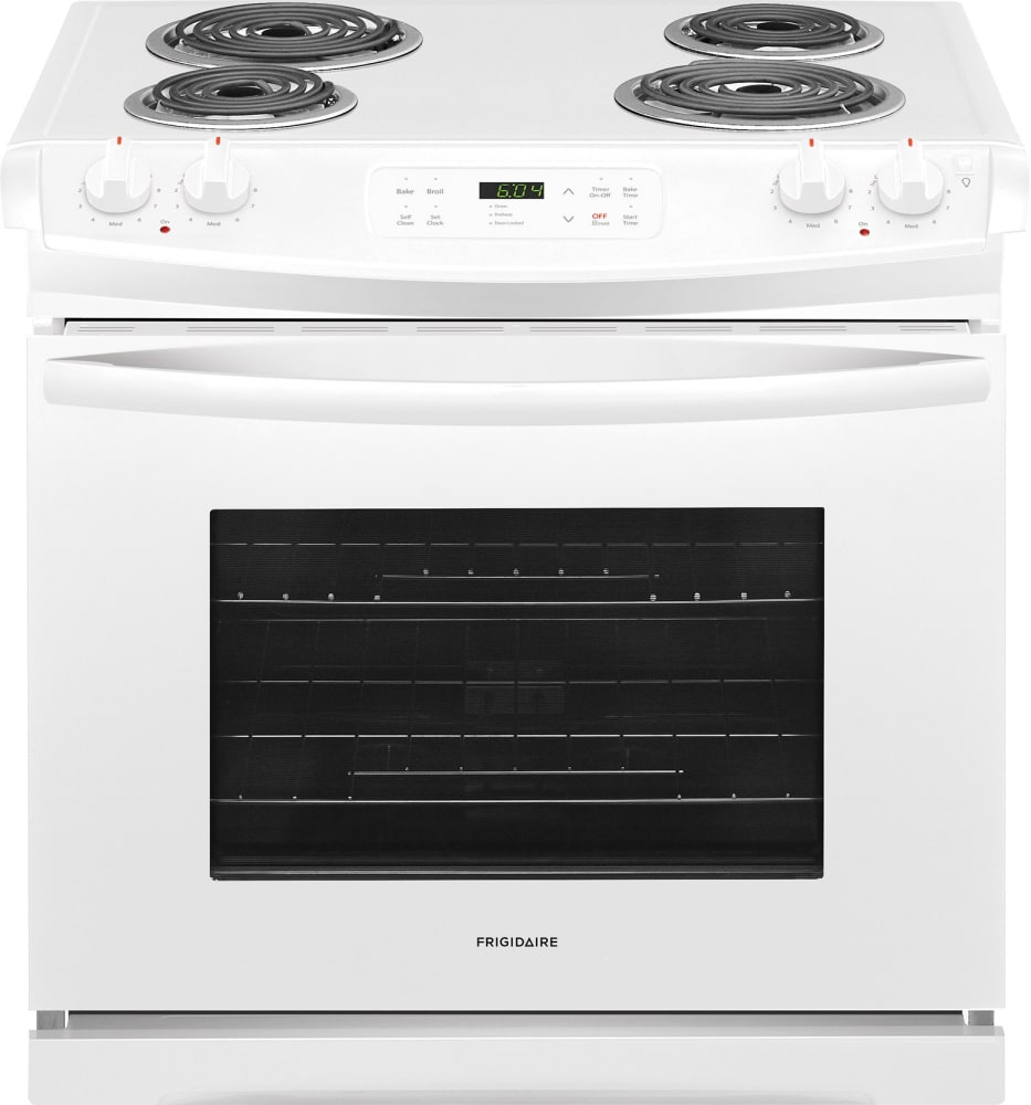 Frigidaire Electric Cooktop ~ Frigidaire ffes tw inch slide in electric range with