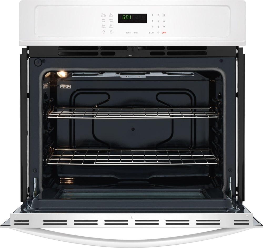 Electric Oven Open ~ Frigidaire ffew tw inch electric single wall oven