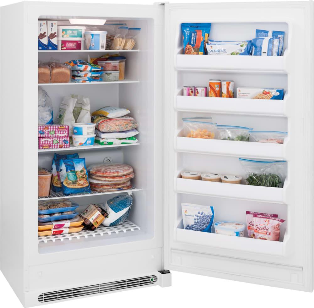 Frigidaire FFFH17F2QW 16.6 cu. ft. Freestanding Upright Freezer with ...