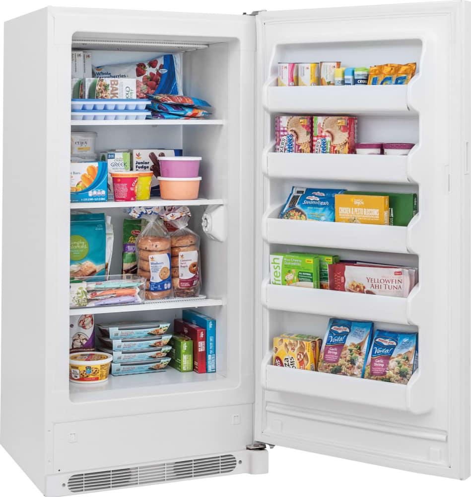 Ge Upright Freezer Manual Frigidaire Fffu13m1qw 128 Cu Ft Upright Freezer With 3 Fixed