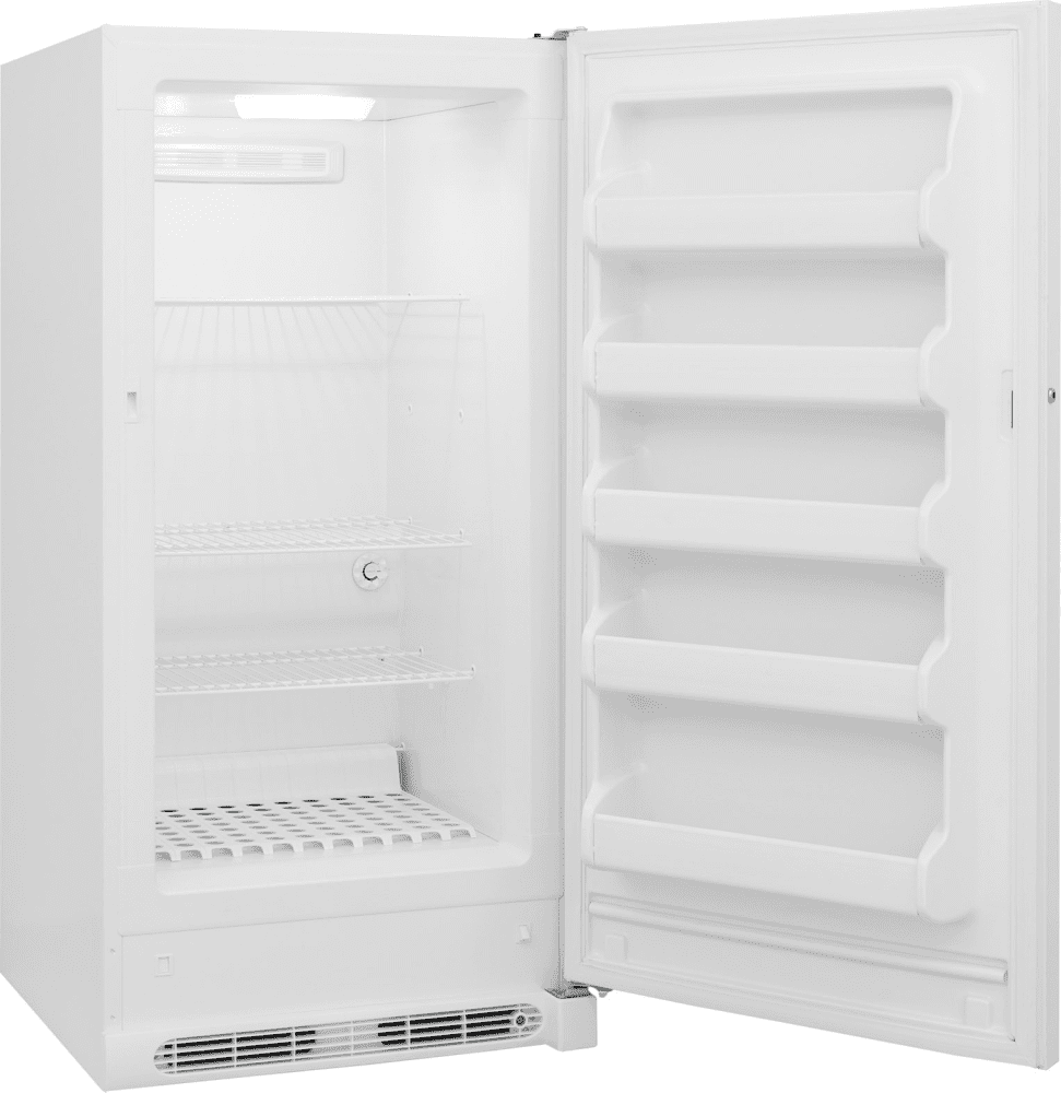 frigidaire fffu14f2qw 13 8 cu ft freestanding upright freezer with 3 adjustable wire shelves. Black Bedroom Furniture Sets. Home Design Ideas