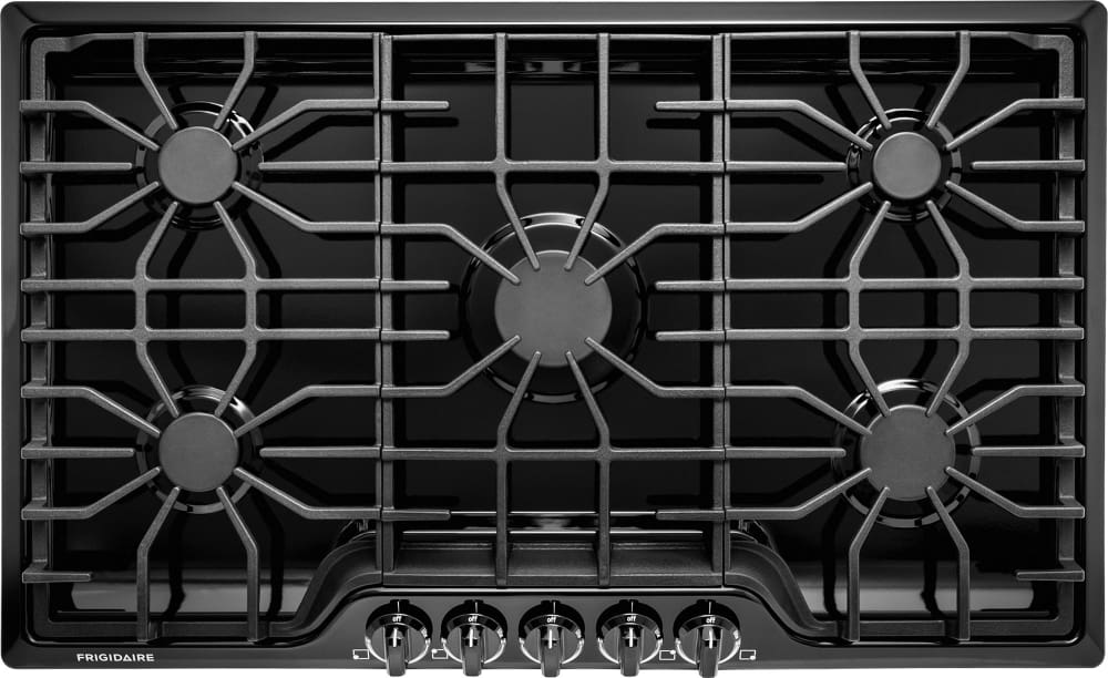 0dce1ca53c0 Frigidaire FFGC3626SB 36 Inch Gas Cooktop with 5 Sealed Burners ...