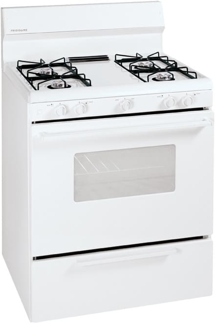 Frigidaire Ffgf3005mw 30 Inch Freestanding Gas Range With