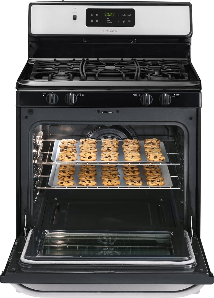 Frigidaire Ffgf3024ss 30 Inch Freestanding Gas Range With