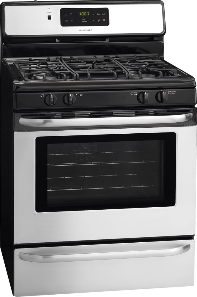 Frigidaire FFGF3024SS 30 Inch Freestanding Gas Range with Quick ...