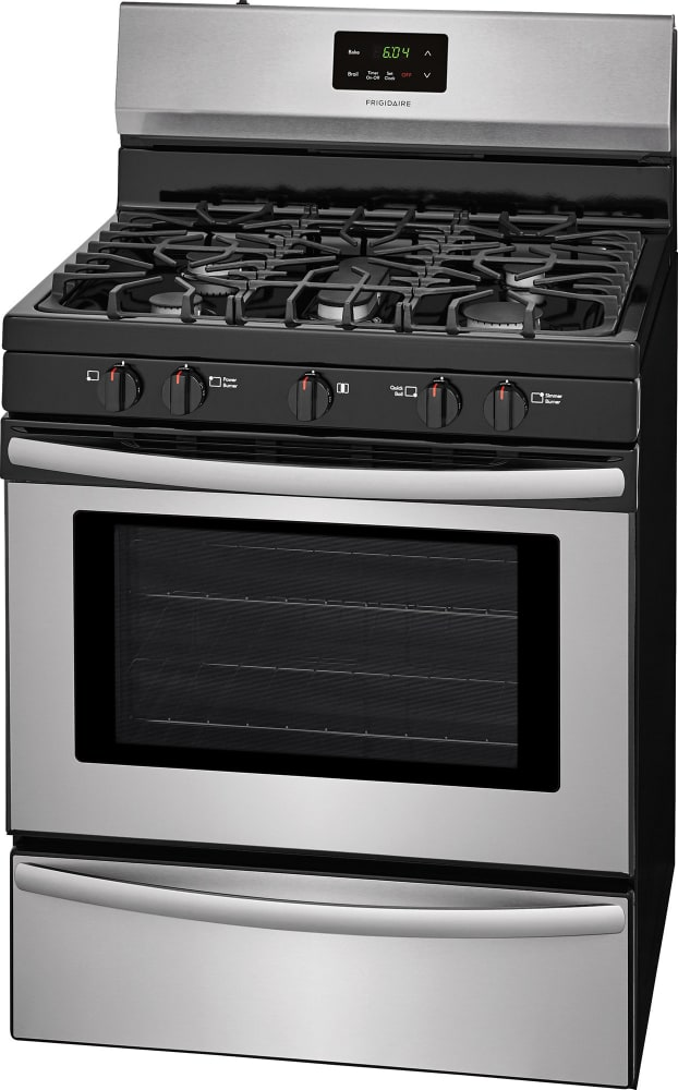 Frigidaire Ffgf3052ts 30 Inch Freestanding Gas Range With