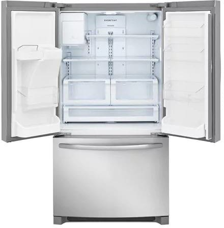 Frigidaire ffhd2250ts 36 inch counter depth french door refrigerator frigidaire ffhd2250ts 36 inch counter depth french door refrigerator with effortless glide crispers store more shelves cool zone drawer even temp asfbconference2016 Image collections