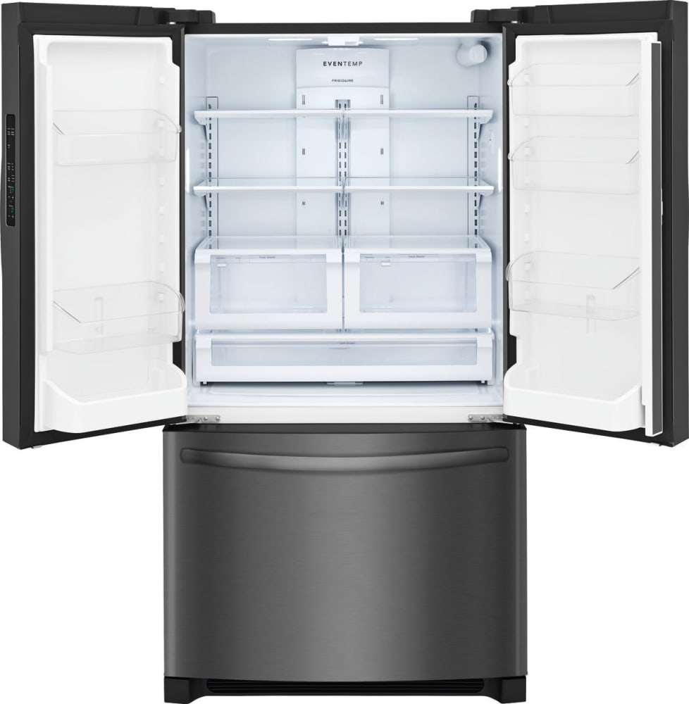 frigidaire ffhg2250td 36 inch counter depth french door refrigerator with effortless glide. Black Bedroom Furniture Sets. Home Design Ideas