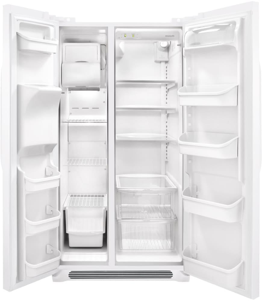 Frigidaire Ffhs2622mw 36 Inch Side By Side Refrigerator