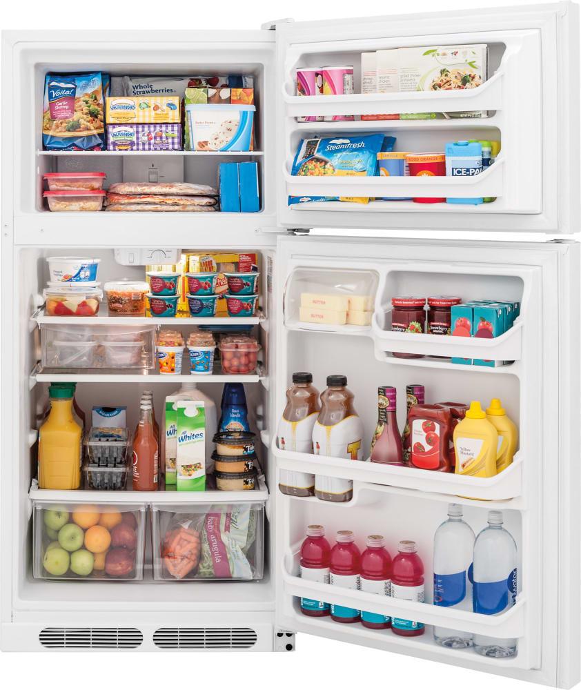 Frigidaire FFHT1521QW 28 Inch Top-Freezer Refrigerator