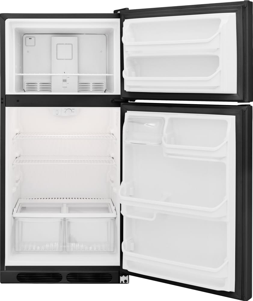Frigidaire Ffht1614qb 28 Inch Top Freezer Refrigerator
