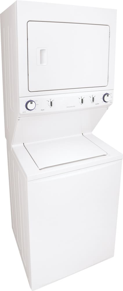Frigidaire Ffle3911qw 27 Electric Laundry Center With 3 8 Cu