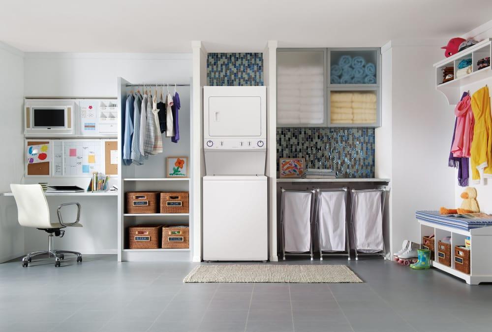 Dryer Temperature Control Frigidaire Fflg3911qw Lifestyle View