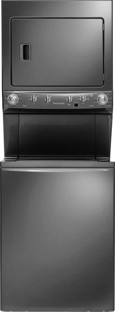 Frigidaire Ffle4033qt Electric Laundry Center In Clic Slate