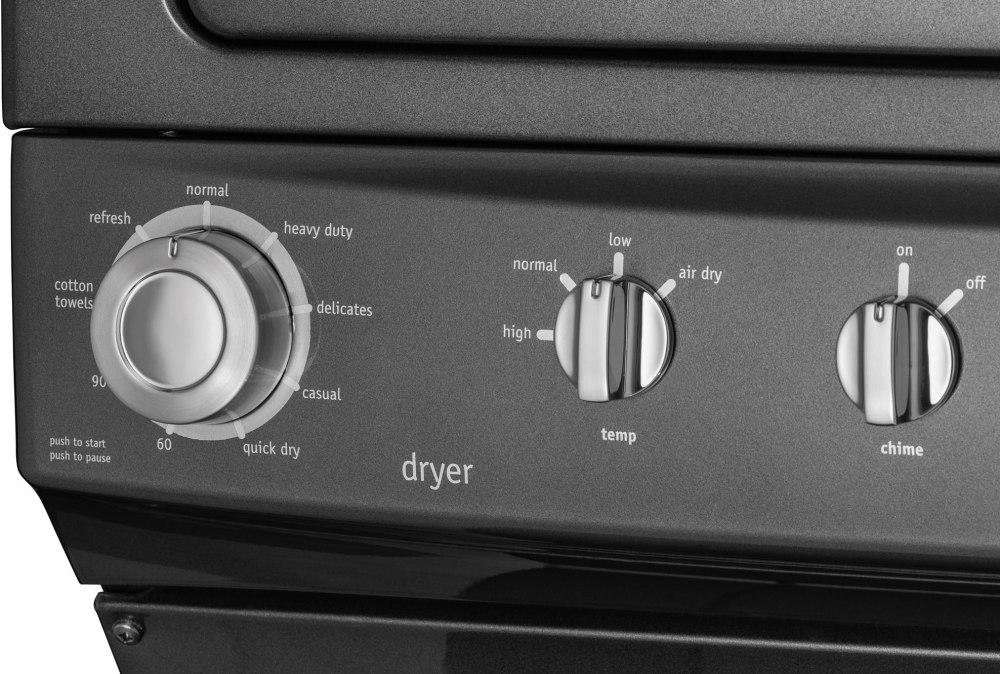 Laundry Center In Clic Slate Frigidaire Ffle4033qt Control Panel