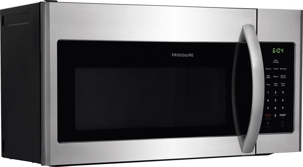 Frigidaire Ffmv1645ts Stainless Steel Front View Side