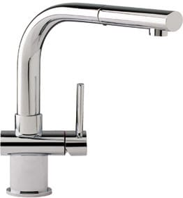 Franke FFP1080 Single Lever Stream Only Pull-Out Faucet