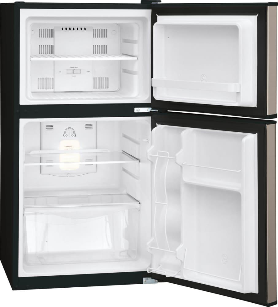 frigidaire ffps4533qm 22 inch compact refrigerator with 4 5 cu ft capacity 2 glass shelves 1. Black Bedroom Furniture Sets. Home Design Ideas