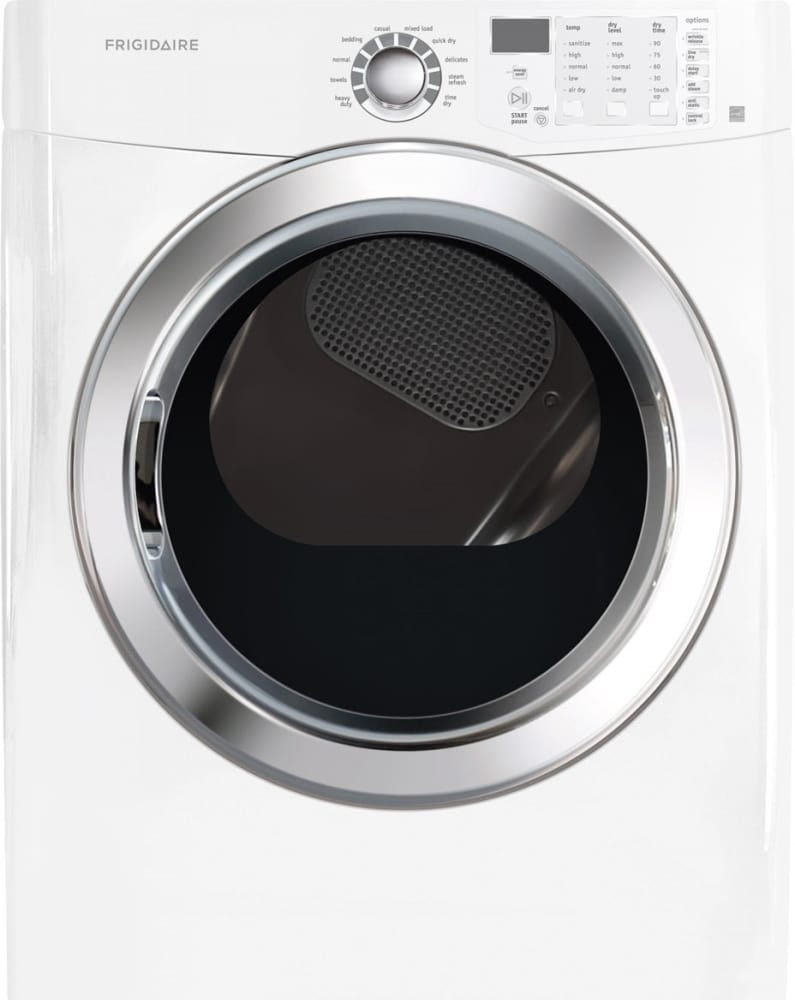 Frigidaire Ffse5115pw 27 Inch Electric Dryer With Ready