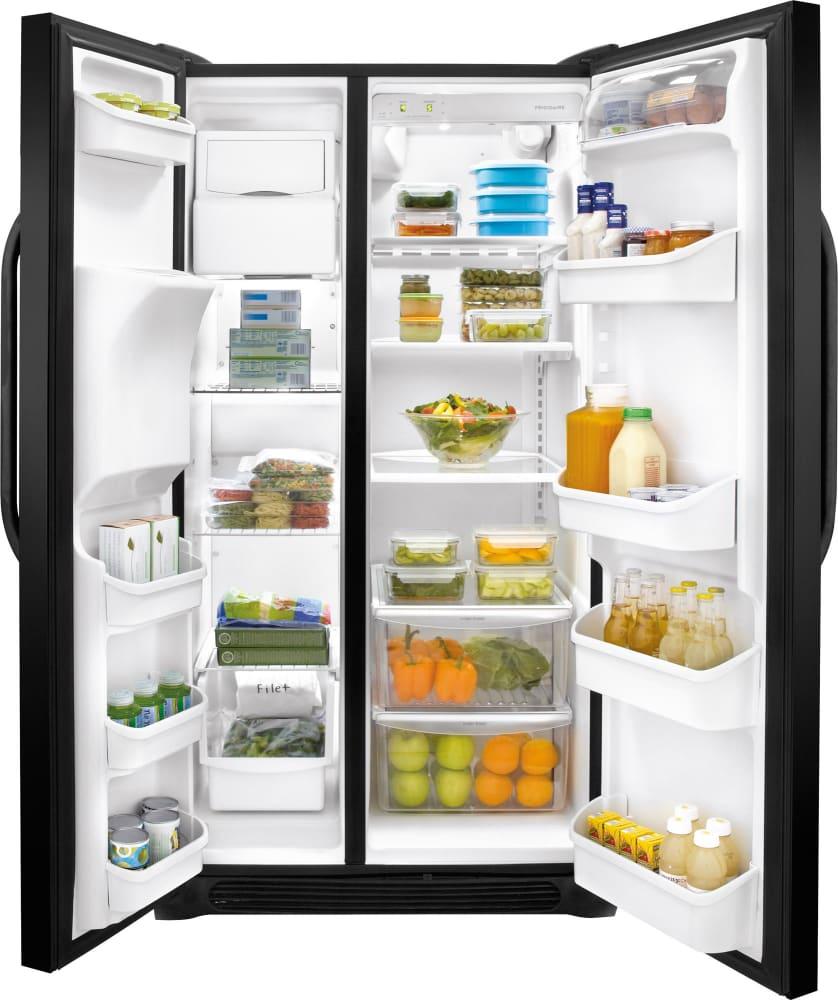 Frigidaire FFSS2314Q 33 Inch Side-by-Side Refrigerator ...