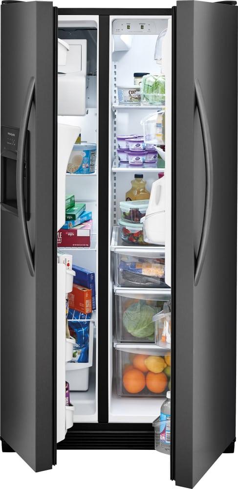 Frigidaire Ffss2615td 36 Inch Side By Side Refrigerator