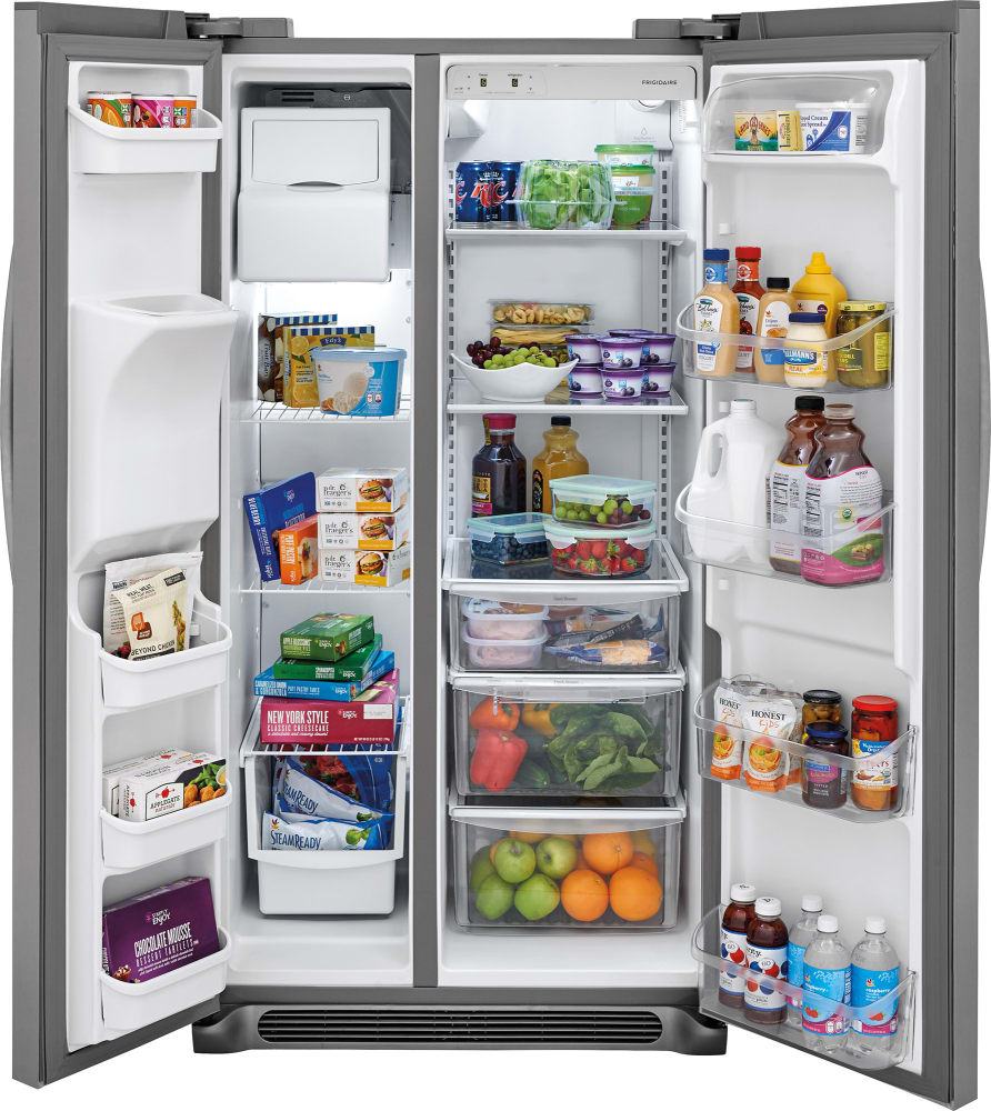 Frigidaire Ffss2625ts 36 Inch Side By Side Refrigerator