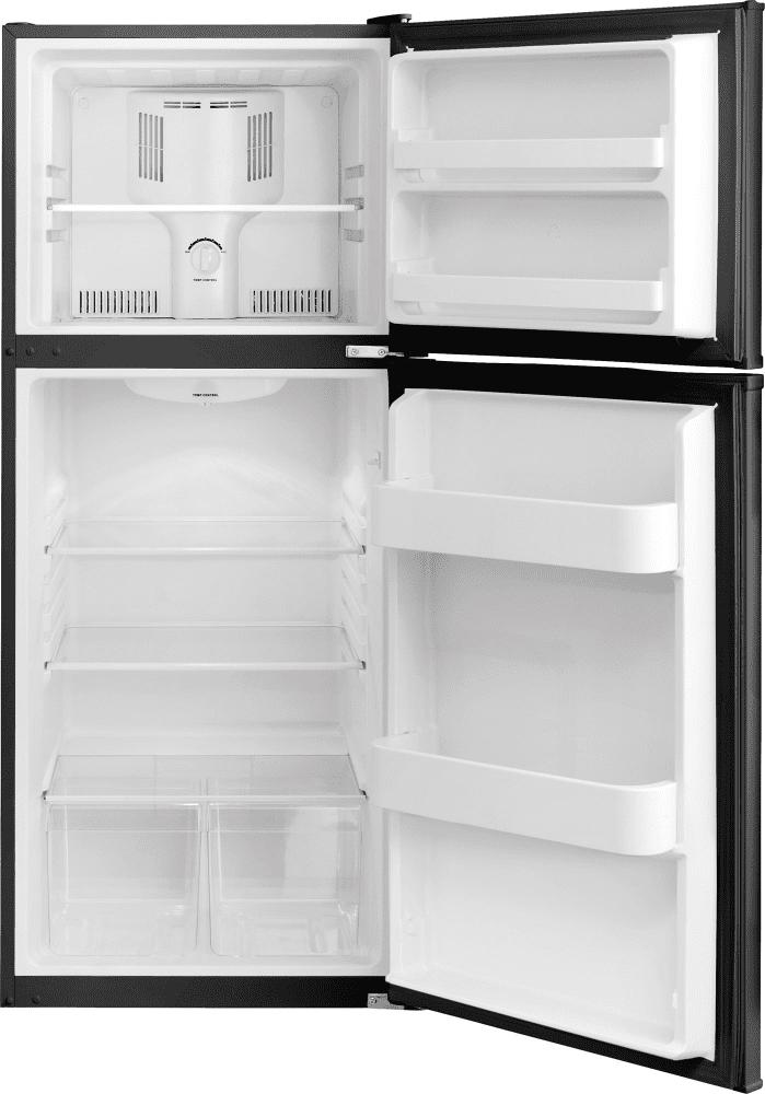 frigidaire fftr1022qb 24 inch counter depth top freezer refrigerator with 10 0 cu ft capacity. Black Bedroom Furniture Sets. Home Design Ideas