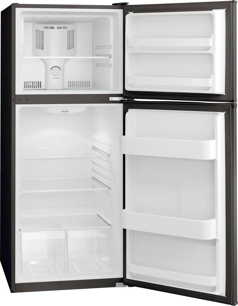Frigidaire FFTR1222QB 24 Inch Top-Freezer Refrigerator with 11.5 cu ...