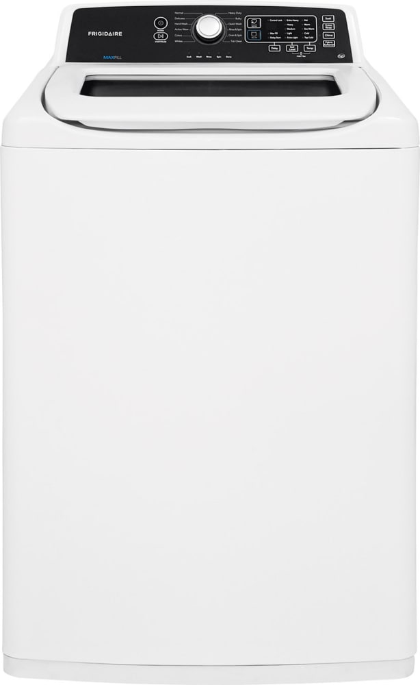 Frigidaire White Top Load Laundry Pair with FFTW4120SW 27 Washer ...