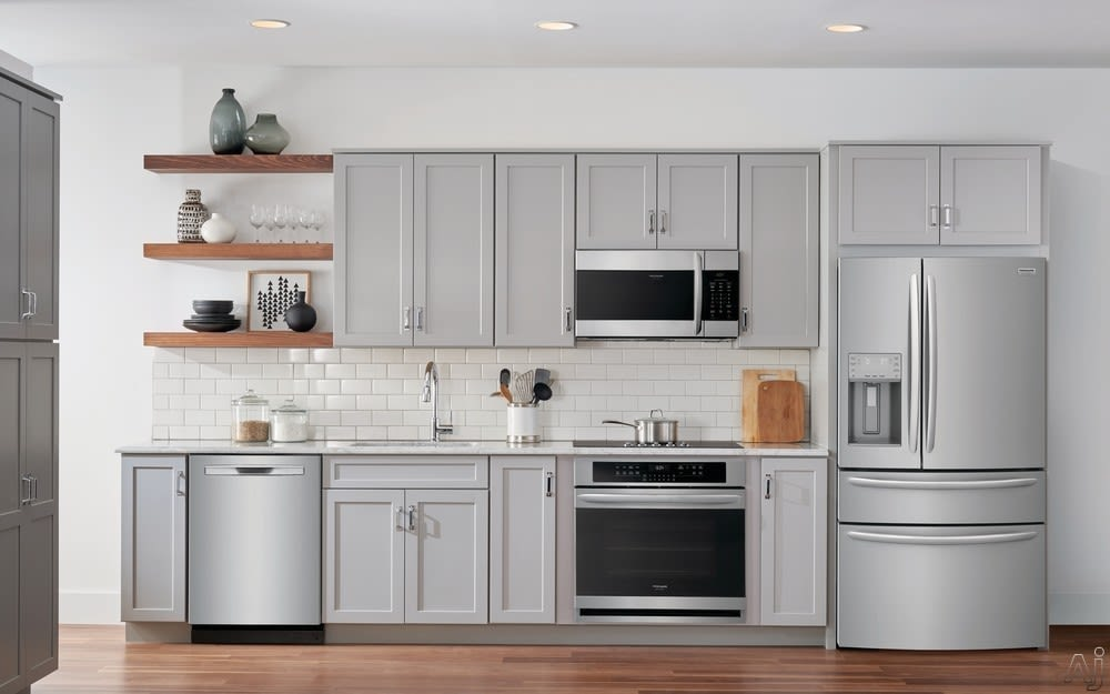Frigidaire Gallery Series Kitchen with Smudge-Proof™ Stainless Steel Appliances