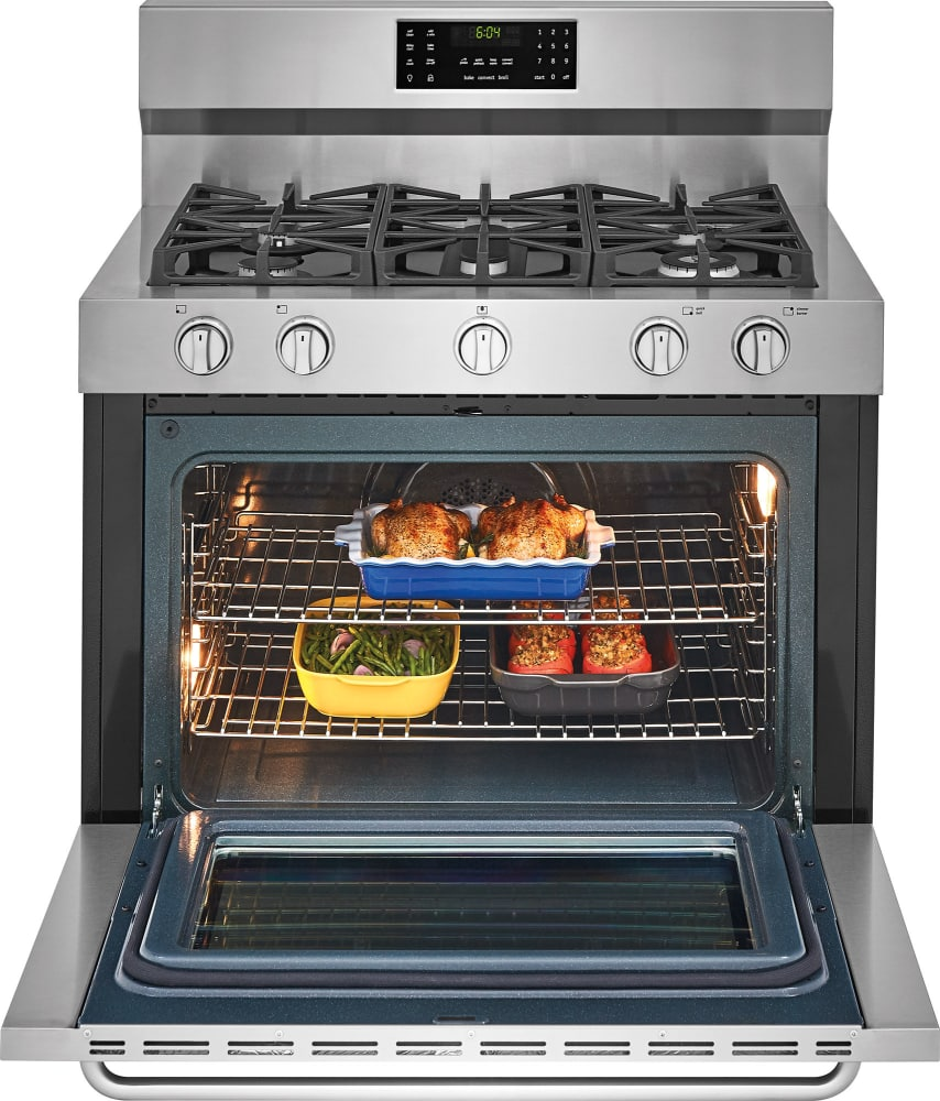 40 Inch Electric Range Part - 43: ... Frigidaire Gallery Series FGDF4085TS - Open View